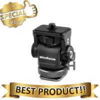 Hot Shoe Ball Head Flash Kamera Tripod 1/4 Inch Twist Lock - MF-1901
