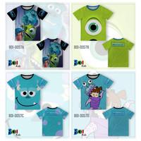 301KIDS Kaos Baju T-Shirt Anak Gambar Disney Monster Inc Premium