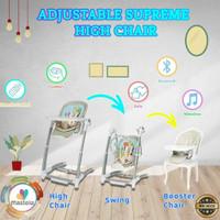Mastela Adjustable Supreme High Chair 3 in 1 / Kursi Makan Bayi