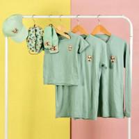 Pop Kidswear Dog Squad Corgi TShirt - Kaos Couple/Kembaran Keluarga
