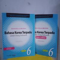 PAKET BAHASA KOREA TERPADU PLUS LATIHAN JILID 6 + CD