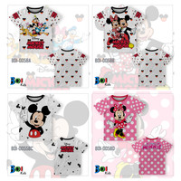 301KIDS Kaos Baju T-Shirt Anak Disney Minnie Mickey Mouse Premium