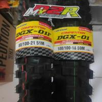 BAN DUNLOP DGX 01 18 21 TYRE MOTOCROSS PAKET DEPAN BELAKANG TRAIL KLX
