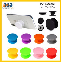 Popsocket Phone Holder Pop Socket Polos Phone Grip Stand Hp Universal