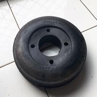 Roda ban karet lori / lory / troli / troly 9 inch swallow (tanpa velg)