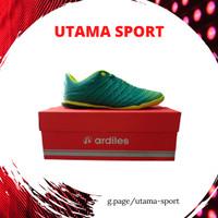 Sepatu Futsal Ardiles CUMCURUM Tosca Biru Merah Terbaru