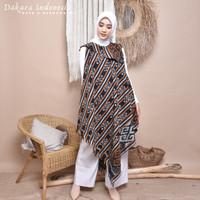 Dress Ethnic Sabrina Tenun Ikat Dakara