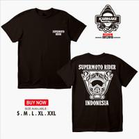 Kaos Baju Supermoto Riders KLX D'TRACKER CRF WR150 Kaos Otomotif - Kar