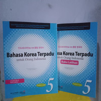 PAKET BAHASA KOREA TERPADU PLUS LATIHAN JILID 5 + CD audio