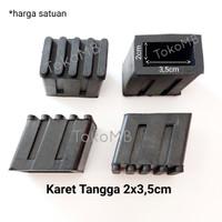 Karet Kaki Tangga Lipat Alumunium 2cm x 3,5cm