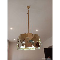 Pendant Lamp Stainless Steel Gold / Lampu Hias Gantung Stainless Steel