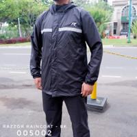 Rainshield Jas Hujan Setelan Rain Coat Razzor Original Setara Kalibre