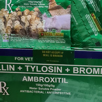 obat ayam burung 1bk impor ori philipin sakit kena virus bakteri diare