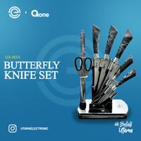 OXONE Butterfly Knife 8 Pcs Set OX-981N