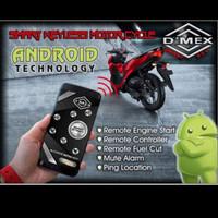 DMEX ANDROID SMARTPHONE SMART KEY ALARM MOTOR SENSOR SENTUH