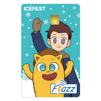 Kartu Flazz Limited Edition Icefest Berlogo Baru