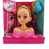 mainan kepala boneka brianna/mainan anak