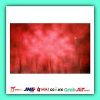 Background photo Abstrak warna merah 2,5 x 3 meter