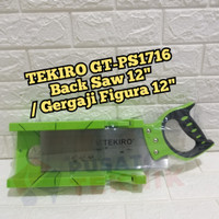 TEKIRO GERGAJI FIGURA 12 - BACK SAW SET 12 - TEKIRO GT-PS1716