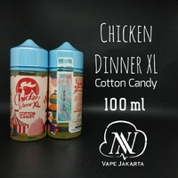 Chicken Dinner XL Cotton Candy 100ml
