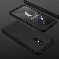 Xiaomi Redmi 5 Plus Armor 360 Full Cover Baby Skin Hard Case 1124 - Hitam