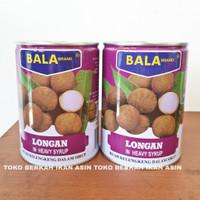BALA Brand Longan Kaleng 565 gr / Buah Longans Kelengkeng