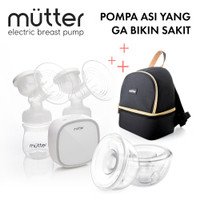 MUTTER KRYSTAL Pompa ASI Elektrik + HANDSFREE + TAS ASI MAE BUNDLING