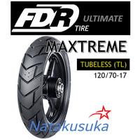 Ban Luar FDR Maxtreme Tubeless (TL) 120/70 - 17