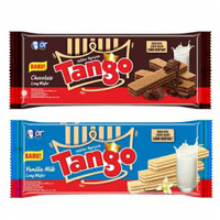 Tango wafer long vanilla & cokelat 130 gr