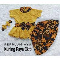 yu setelan baju stelan kebaya rok batik fashion anak perempuan bagus