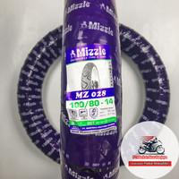 Mizzle MZ028 100/80-14 Ban Motor Matic Tubetype (Non Tubeless)
