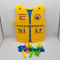Mainan Anak Kostum Baju Profesi Baju Engineer / Konstruksi Tameng