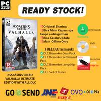 ASSASSINS CREED VALHALLA ULTIMATE EDITION + ALL DLC PC ORIGINAL