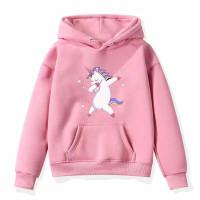 Sweater anak perempuan UNICORN jaket anak baju anak perempuan - pink