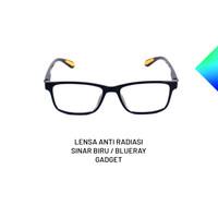 Kacamata Anti Radiasi Anti UV400 Anti Sinar Biru Anti Blue Ray HP TV