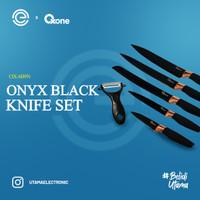 OXONE Onyx Black Knife Set OX-609N