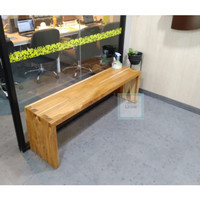 bangku kayu jati minimalis willi (rak, meja, kursi&sofa, lemari)