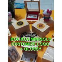 Tambahan Custom LOGO untuk Box Emas -Otomatis gratis Glossy/Anti Gores
