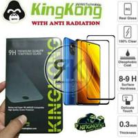 kingkong Tempered glass Full Cover POCOPHONE POCO X3 NFC antigores