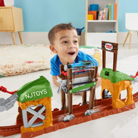 Thomas and Friends Track master Walking Bridge mainan kereta anak