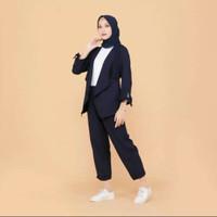 Luna Blazer Setelan wanita / Blazer wanita set murah