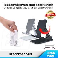 Phone Holder Hp Docking Bracket Dekstop Stand Foldable Dudukan Ponsel