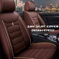 Sarung jok mobil honda brv mobilio 2018 bahan standar
