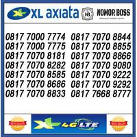 NOMOR CANTIK XL 4G 0817 7070 XXXX