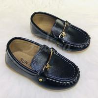 Sepatu pantofel anak laki-laki ukuran 21-30