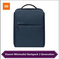 Xiaomi Minimalist Urban Backpack 2 - New Version 2020 - Biru