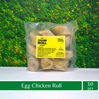 Egg Chicken Roll Isi 10. Bento Frozen Homemade