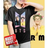 Kaos/baju anak BTS -RM- 001 (size anak 1 - 11 tahun)