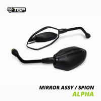 Spion Motor Alpha Honda Yamaha TGP Beat Vario 125 150 PCX ADV Variasi - honda, Tangkai Panjang