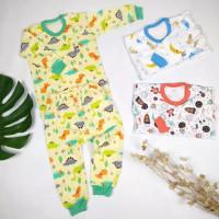 Setelan Baju Panjang LITTLE Q 3pcs S, M, L, XL